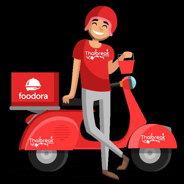Delivery_Foodora_Thaibreak